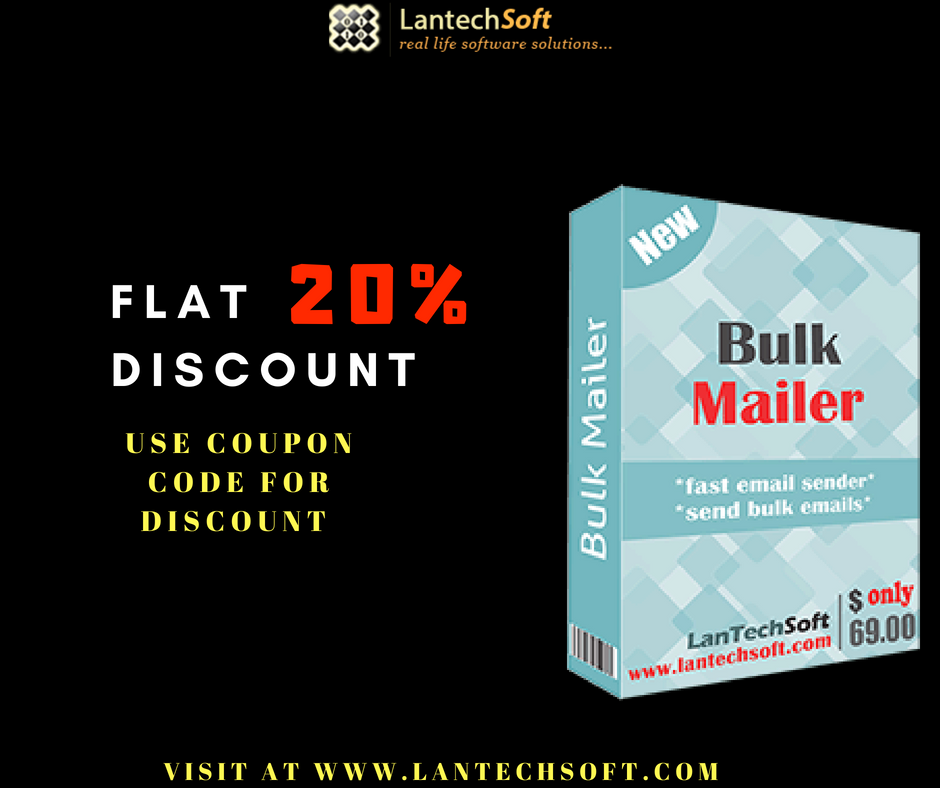 Bulk Mailer software help you To send Group Emails, user needs to