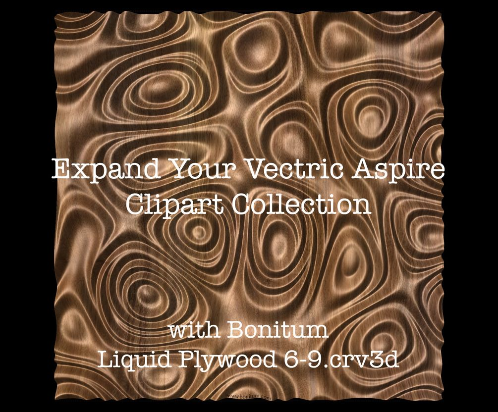 Liquid Plywood 6 9 Vectric Aspire Clipart Stl Clip Art Stl Plywood Design
