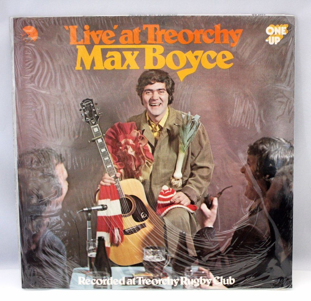 Max Boyce Live At Treorchy Vinyl Record Lp 1973 One Up Emi Welsh Folk Sealed With Images Vinyl Records Records Vinyl