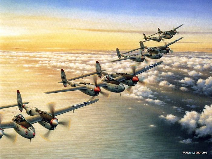 Air Combat Painting by Robert Taylor