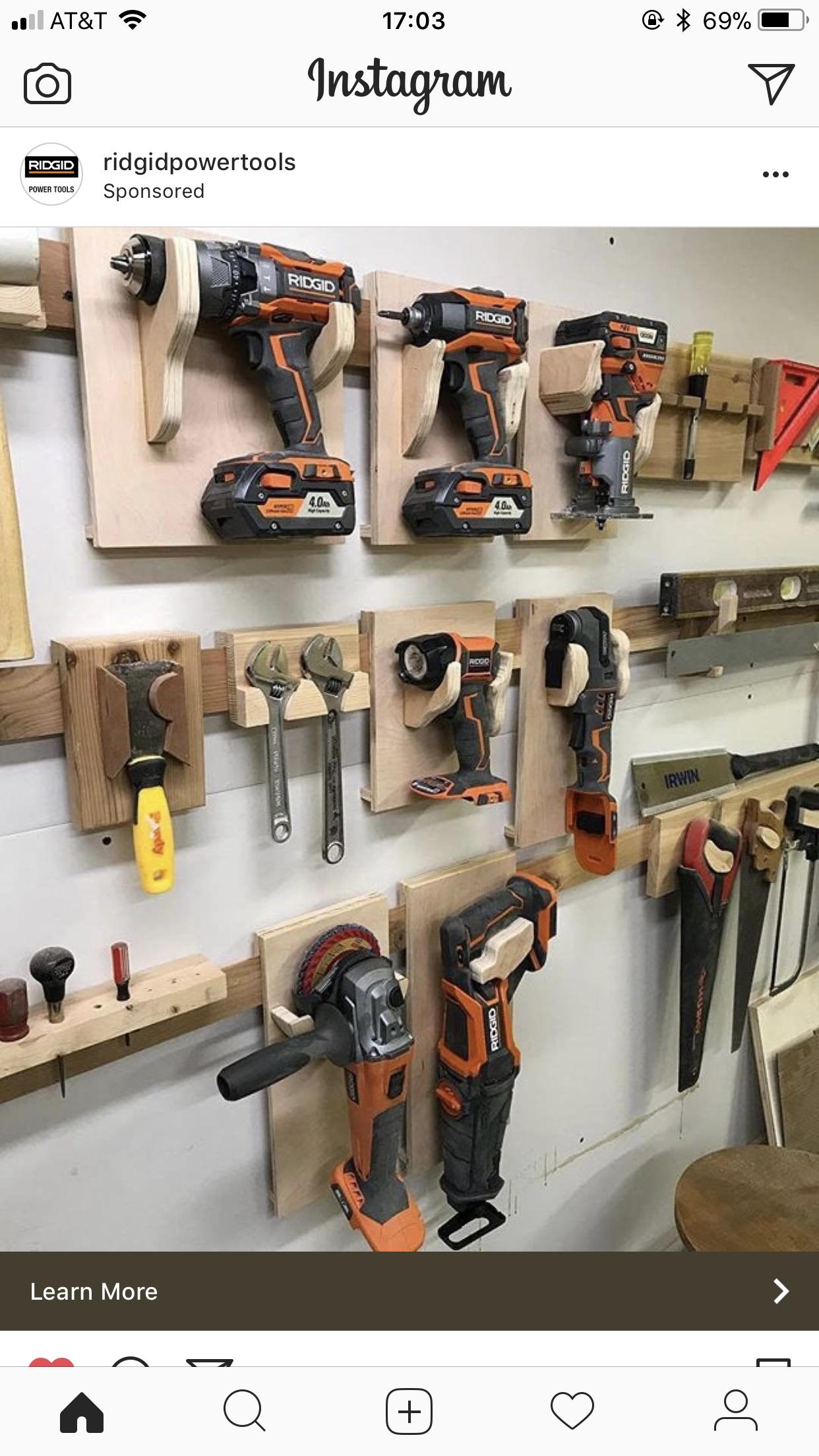 Craft Shed Storage