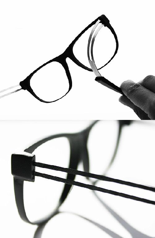 One of the common problems with glasses is the delicate hardware ...