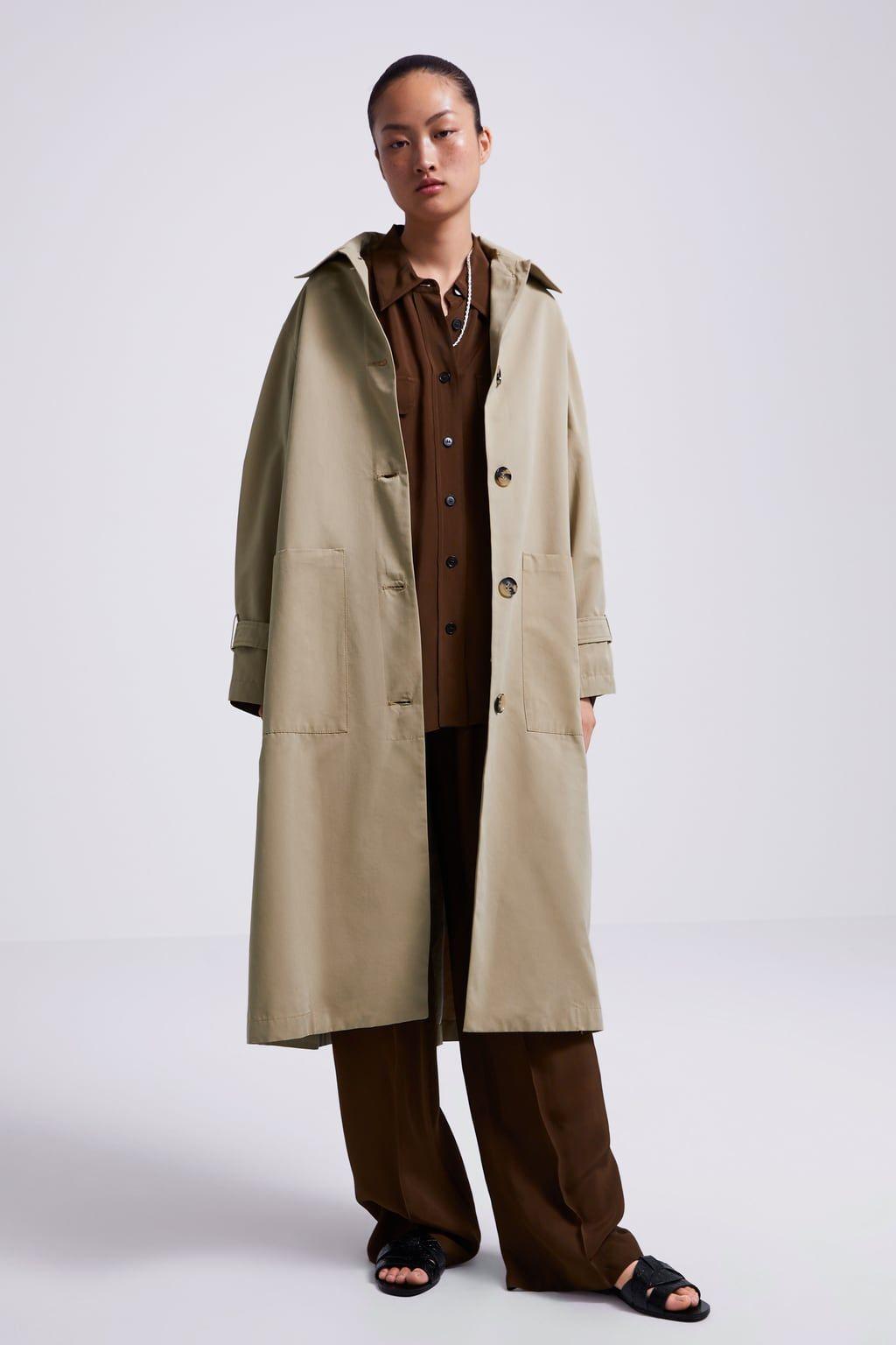 458e7948 Image 1 of OVERSIZED TRENCH COAT from Zara Trenchcoats, Zara Dresses, Zara  United Kingdom