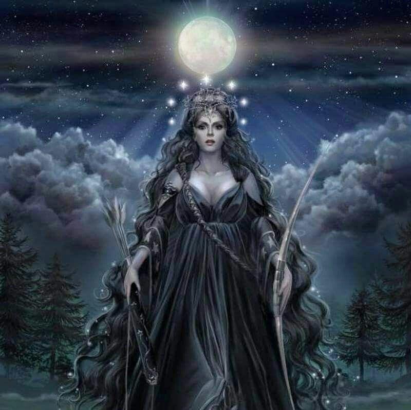 Artemisgoddess Of The Moond Of The Hunt Pinterest