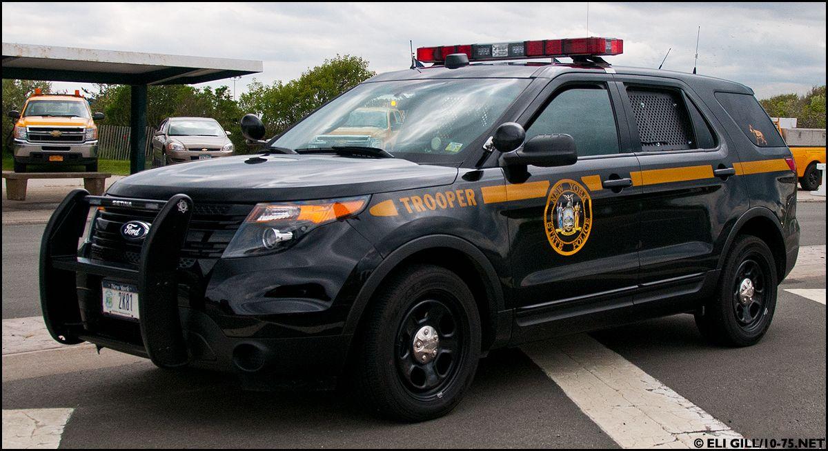 new york state police  police cars police truck ford police