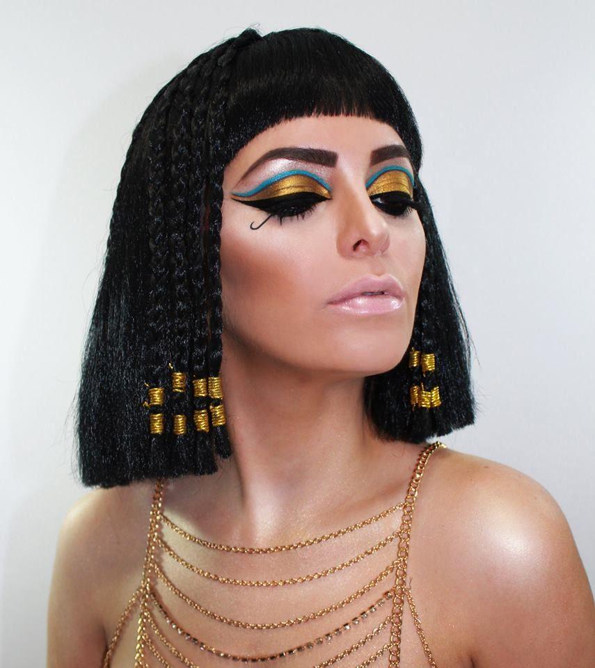 Cleopatra 31 Days of Halloween Makeup and model: Ingrid M. Rivera ...