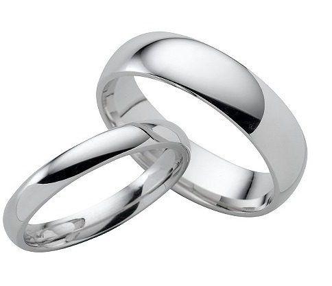 506f89709e5b Par Argollas Matrimonio Lisas Pareja Boda Amor Plata .925 -   680.00 ...