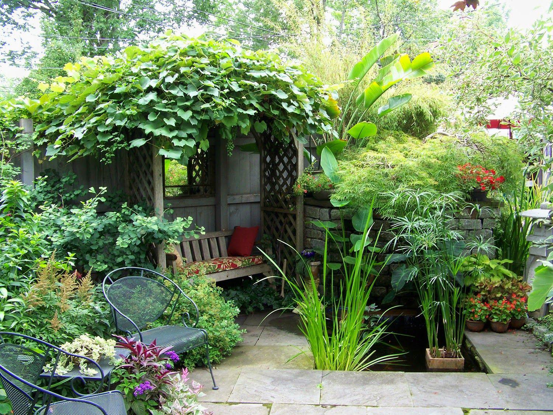 25 ideas de dise os r sticos para decorar tu patio vida - Decoracion para patios ...