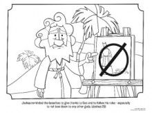 Joshua Coloring Page Bible Coloring Pages Bible Coloring
