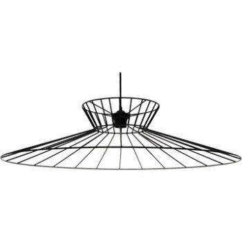 suspension design othilie métal noir 1 x 60 w metropolight | leroy