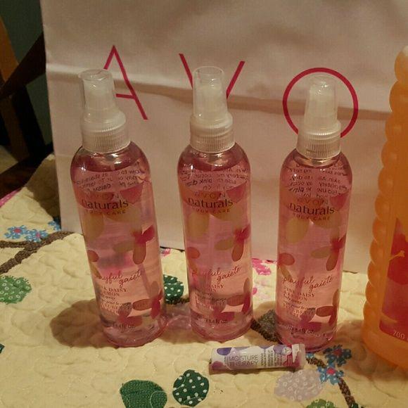 SALE!!!! ??????AVON!!!!Bubble bath SOLD 3 body sprays, bubble bath ...