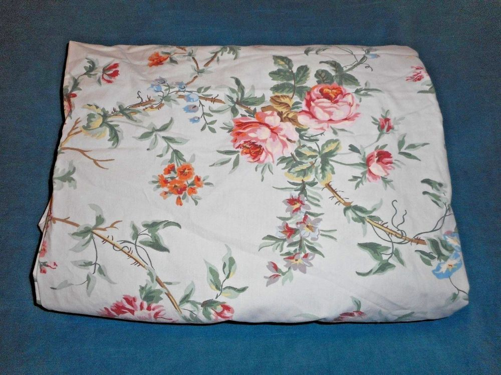 6f5b0edbbbd Rare Ralph Lauren Toulouse Floral Queen Fitted Sheet French Country Roses   RalphLauren  FrenchCountry