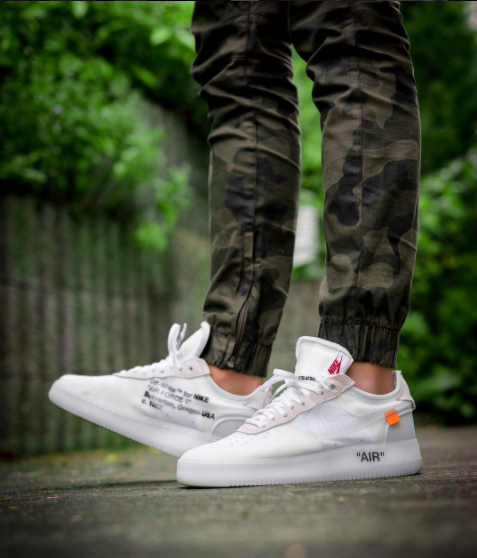 brand new 97f07 845d3 Virgil Abloh OFF-WHITE x Nike the Ten Air Force 1 Low White ...