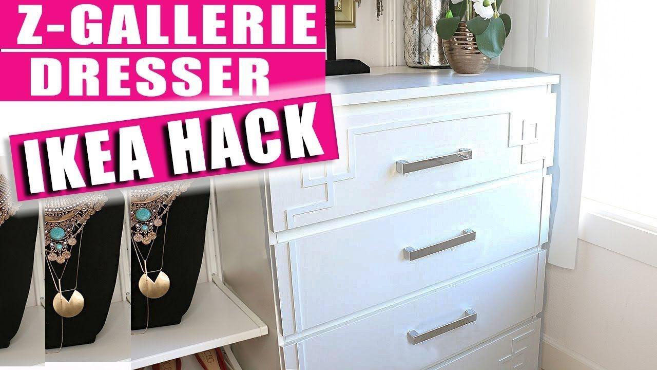 Ikea Hack Malm Dresser With Overlays Youtube Ikea Hack Malm Dresser Ikea