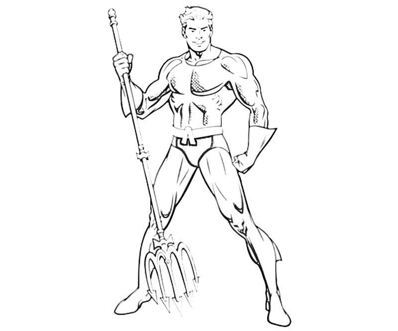 Dc Universe Aquaman Abilities Aquaman Coloring Pages Dc Universe