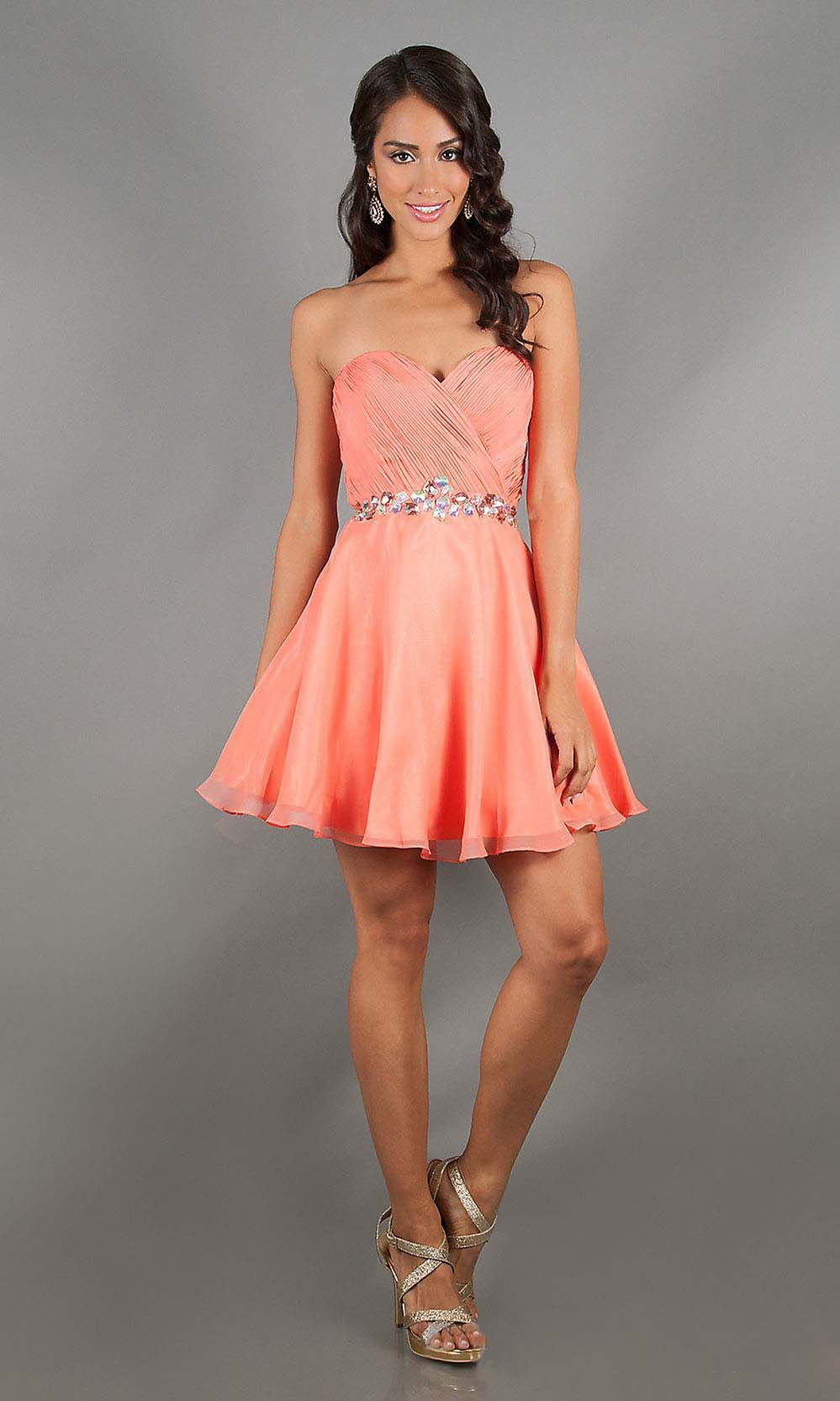 junior cocktail dresses, sexy cocktail dresses, coral prom dresses ...