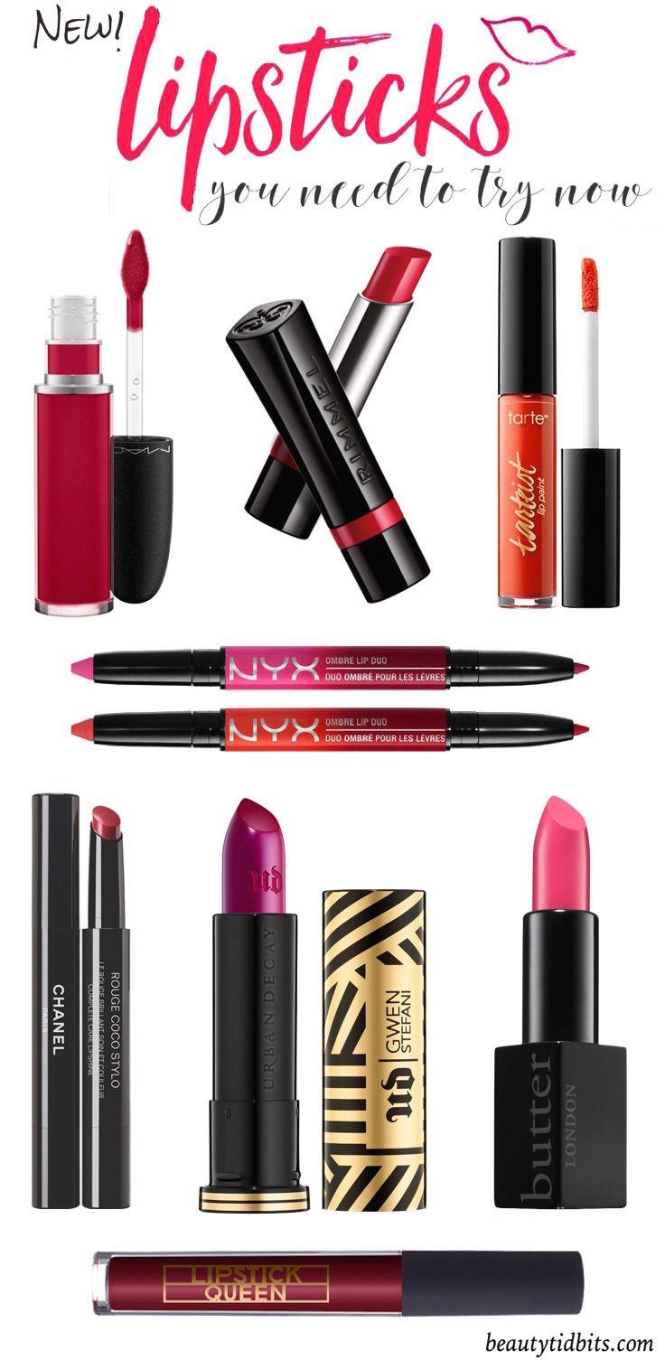 Best new lipsticks for Spring 2016