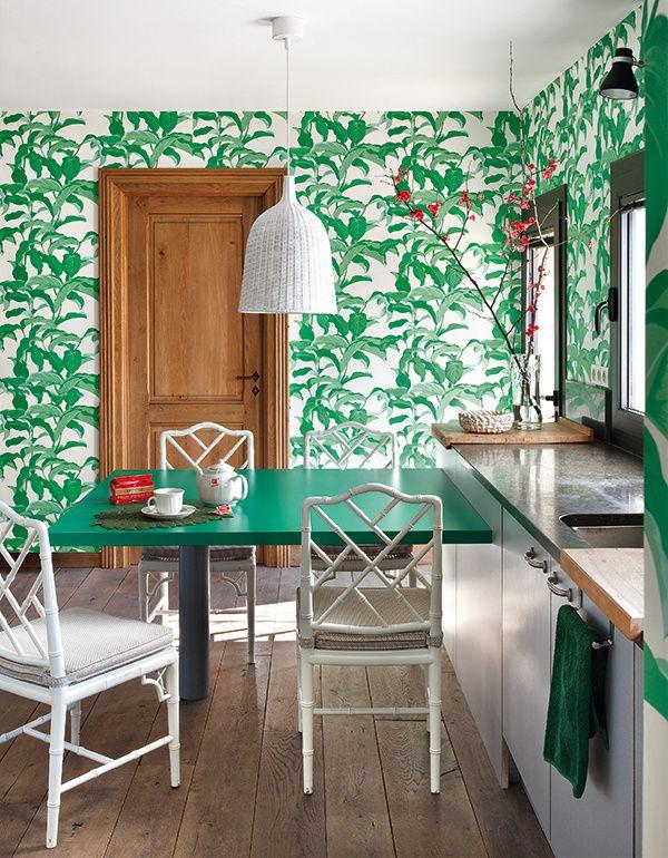 Fogones outside barcelona papel pintado y cocinas - Papel pintado barcelona ...