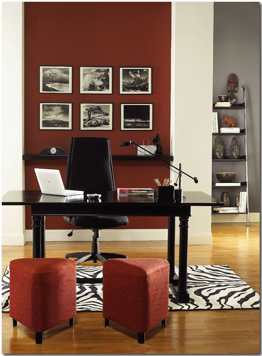 image result for benjamin moore dinner party home office on benjamin moore office colors id=36500
