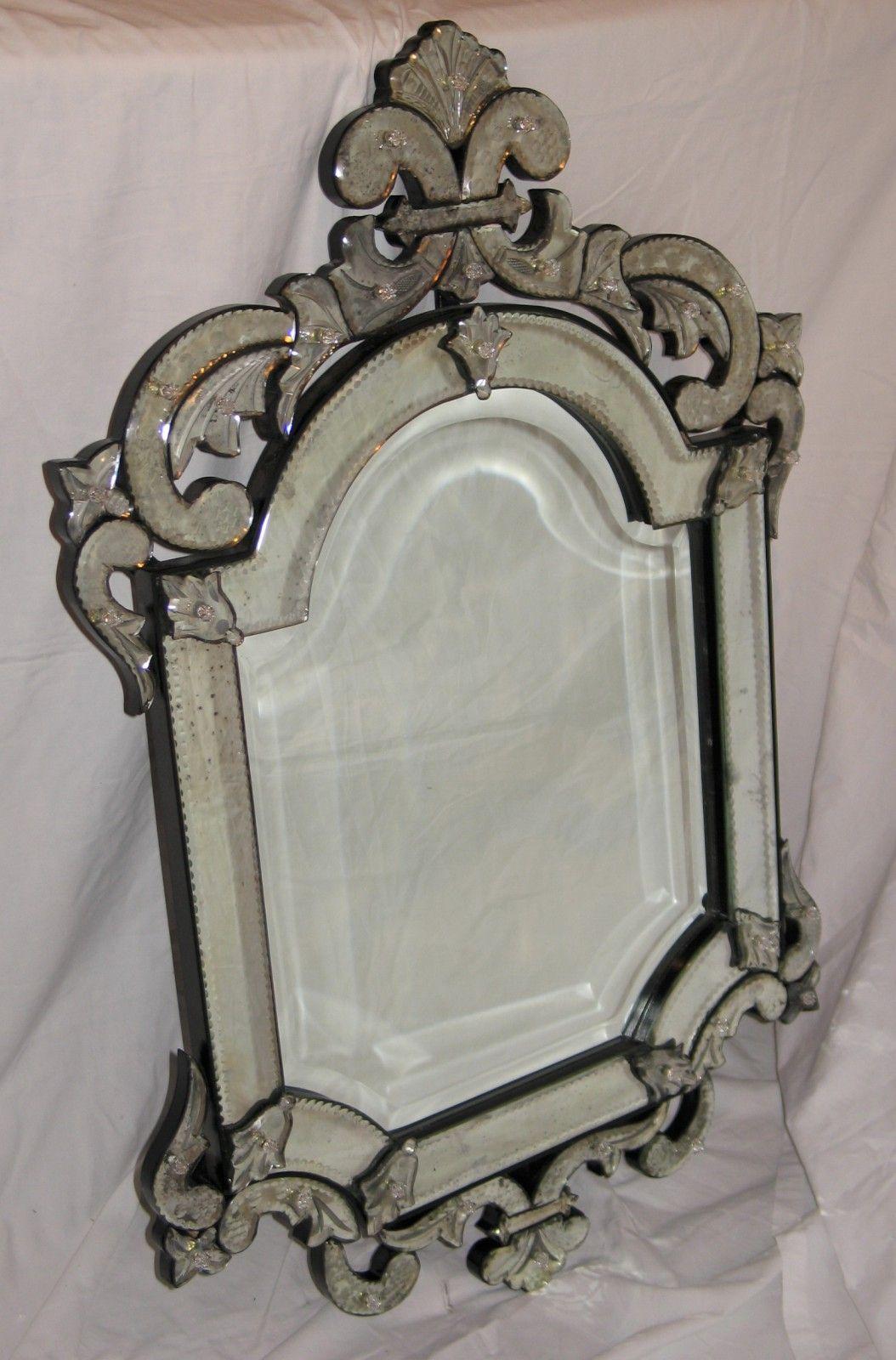 Le miroir v nitien l 39 honneur miroir de venise for Miroir venitien