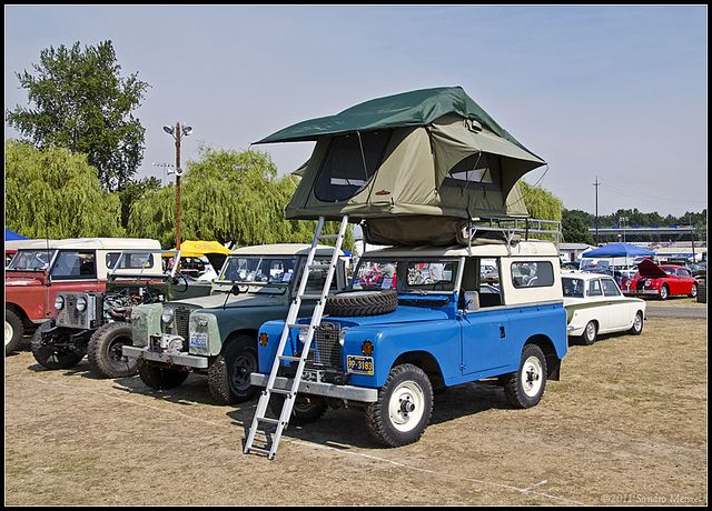 Land Rover Series Ii Roof Top Tent Roof Top Tent Land Rover Top Tents
