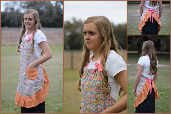 Bringing in Spring Gray Orange and Pink Women's by ImpactInspired, $24.99