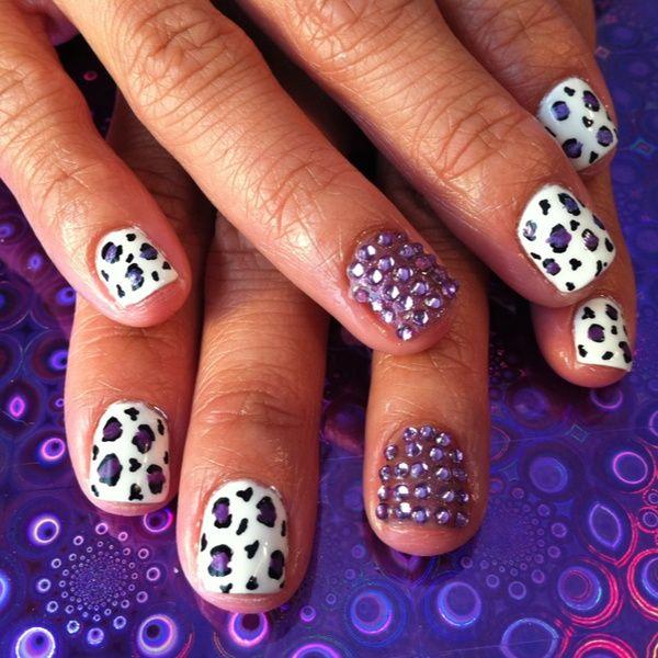 gel polish nail design - Designing Nails At Home