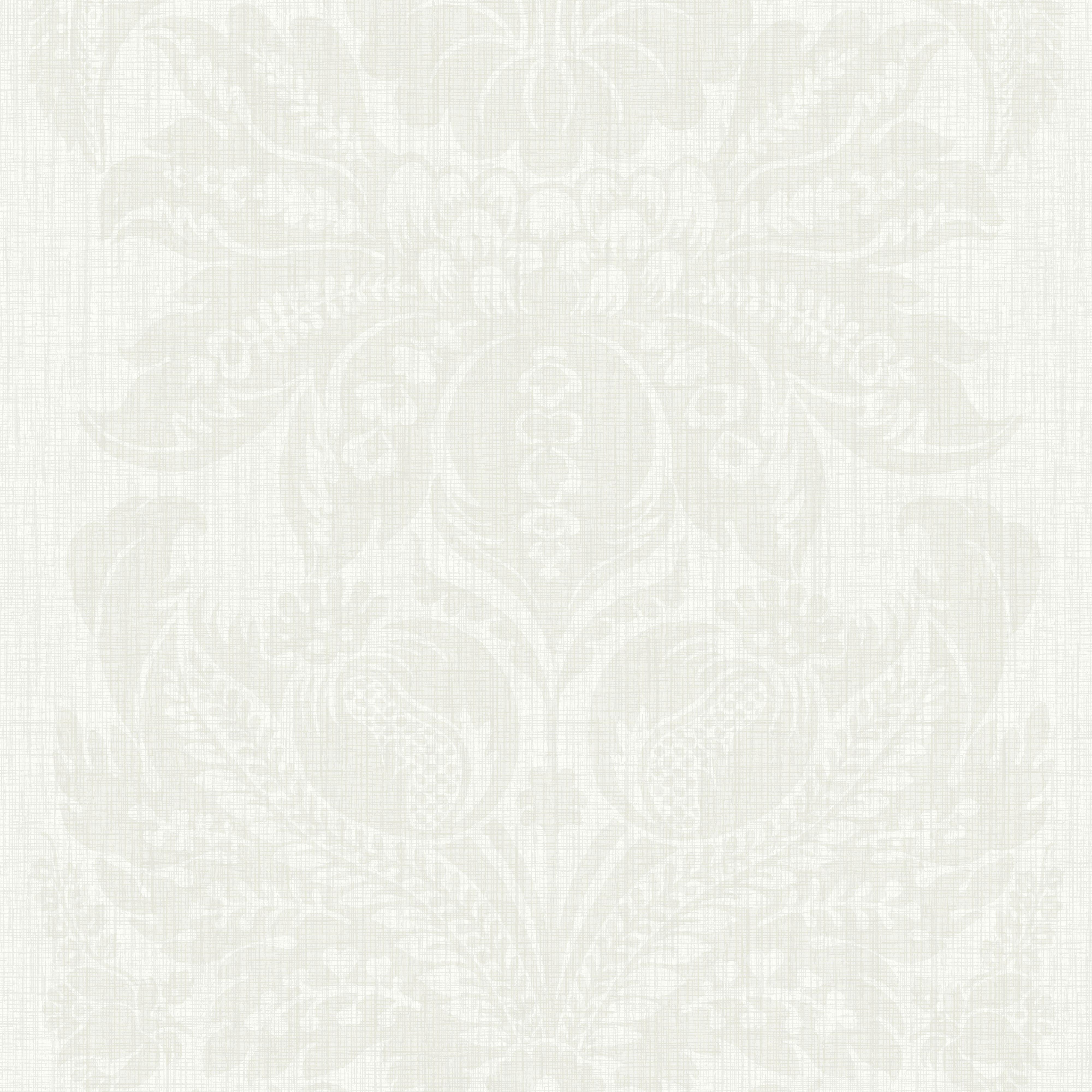 Arthouse Napoli Cream Grand Damask Glitter Effect Wallpaper