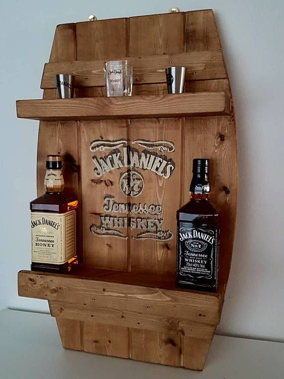Jack Daniels Bar Shelf In 2019 Diy Hausbar Hausm 246 Bel