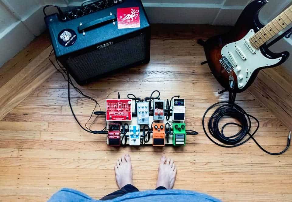 Acoustic Guitar Effects Pedal