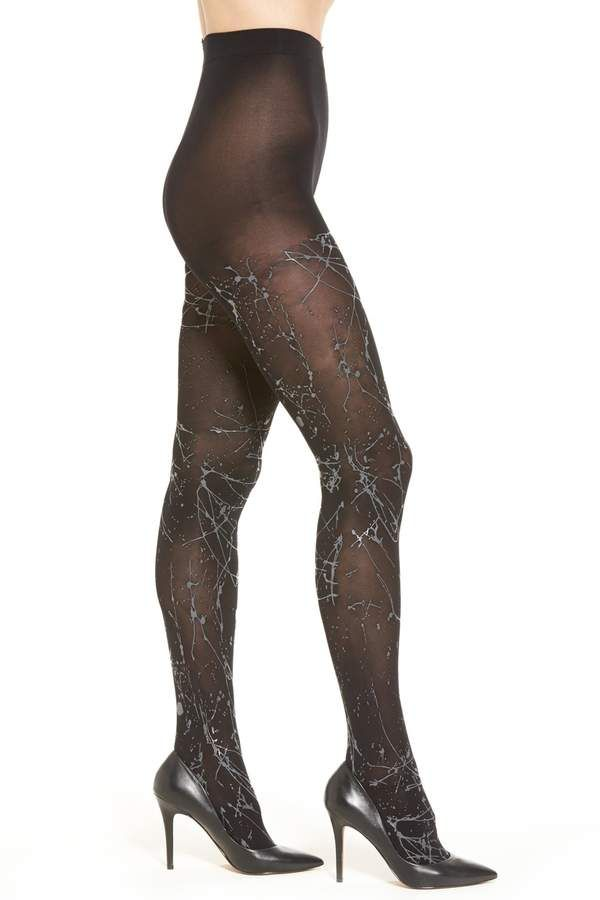 13df832fde5 Pretty Polly Paint Splatter Tights  Polly Pretty Paint