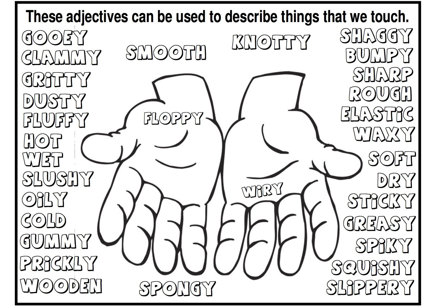 Nine free printable and fun Adjective Activities that are