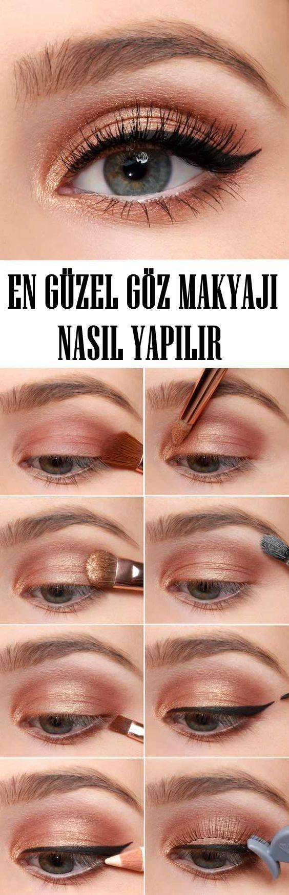 En Güzel Göz Makyajı Nasıl Yapılır? #hairmakeup