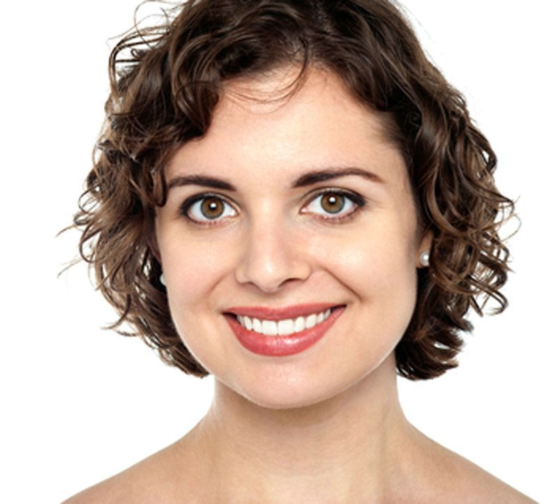 Short Curly Hairstyles For Women With Round Faces Short