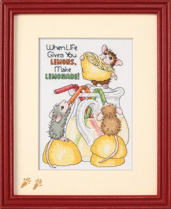 Make Lemonade! - Cross Stitch Kit