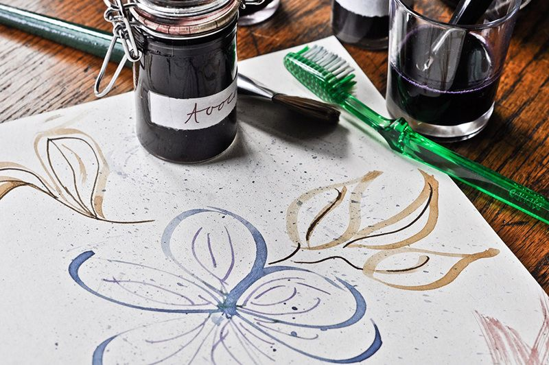 5 Natural Ink Recipes How To Make Ink Nature Paintings Organic Art