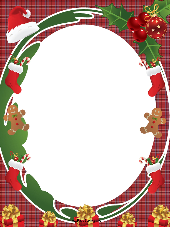 (png / pdf / jpg files) Christmas border, Christmas