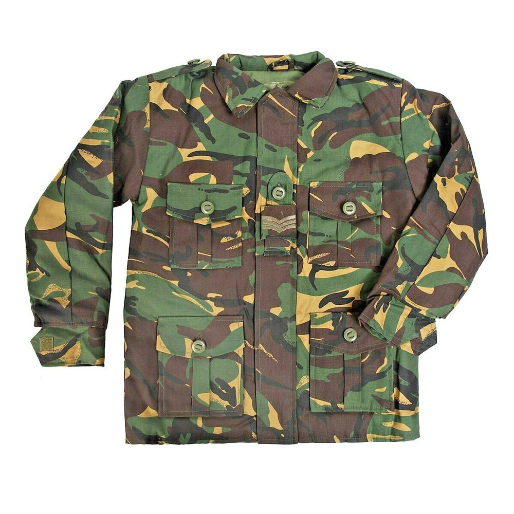 KIDS COMBAT DPM CAMO ARMY TROUSERS are water repellent childs