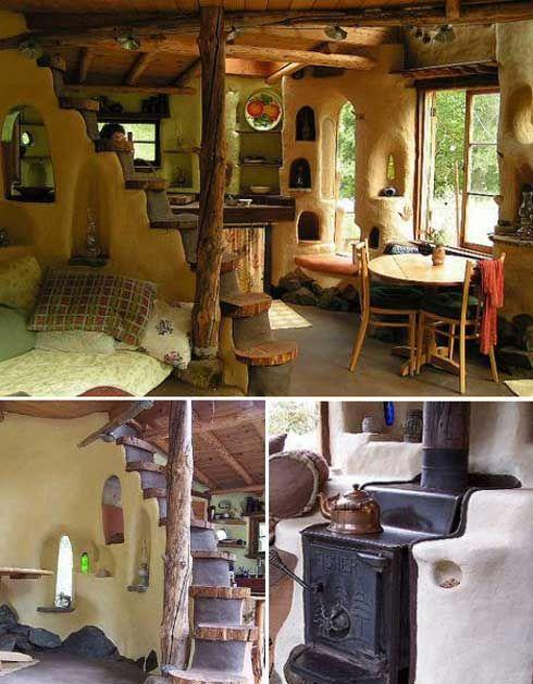 Casa COB, casa feita com materiais naturais, simples de fazer e barata. Uma nova alternativa para quem quer uma casa bonita, original e de maneira acessível