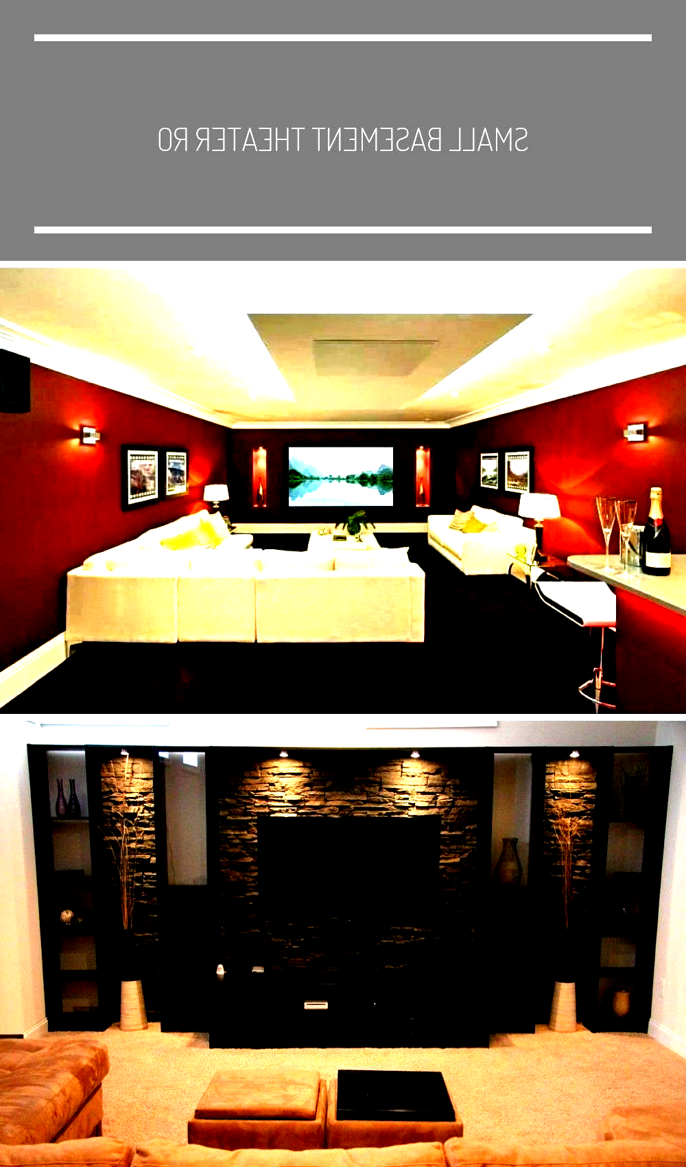 Small Basement Theater Room Ideas Entertainment Room Ideas S In