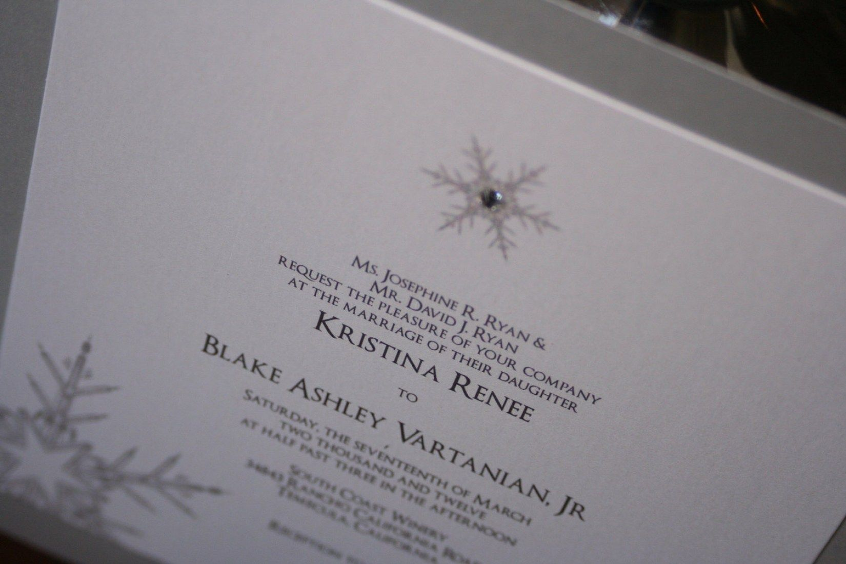 30 Winter Wonderland Wedding Invitations Ideas | Invitation ideas ...