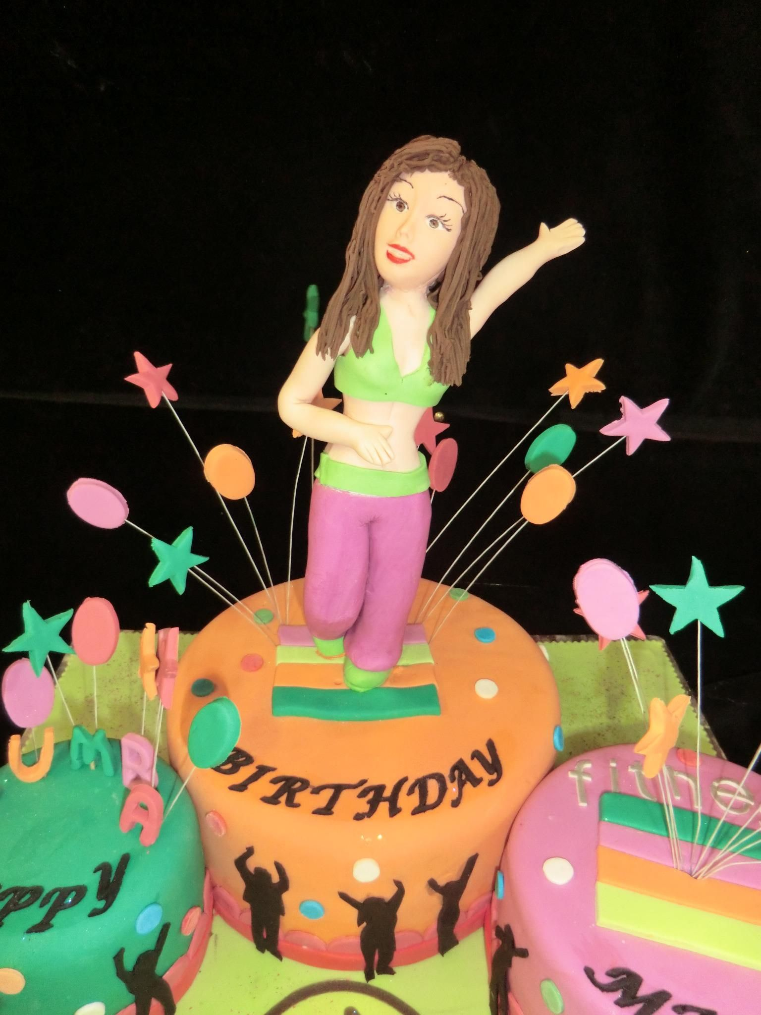 Best Zumba Birthday Cake I Have Ever Seen Zumba Birthday