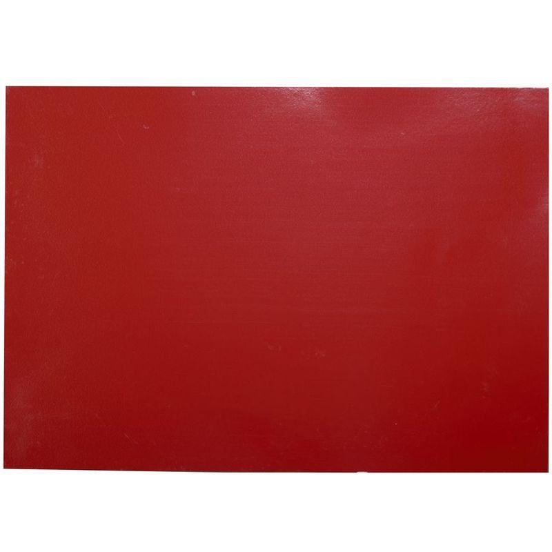 Adhésif décoratif pour meuble Brillant – 200 x 45 cm – Rouge – 800574