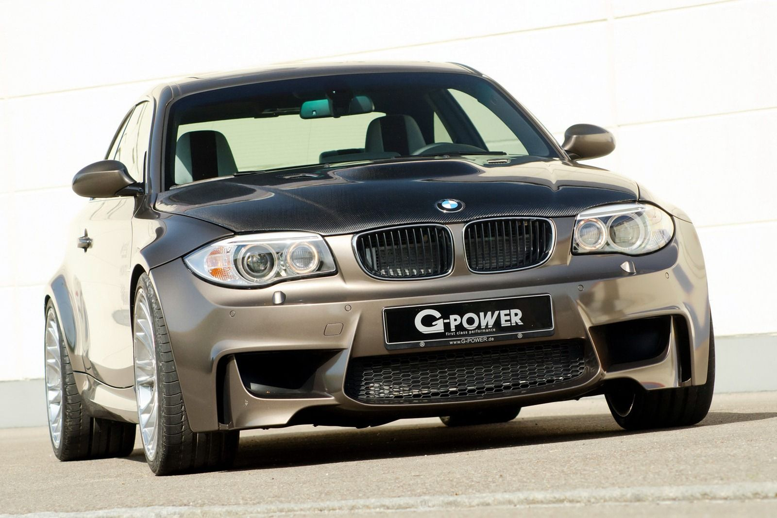 G Power Builds Insane Bmw 1 M Coupe With 592hp V8 And Top Speed Of 330km H 205mph Carscoop The Compact Sized G1 V8 Hurricane R Bmw Bmw 1 Series Bmw Cars 2013 bmw 1 series m coupe by