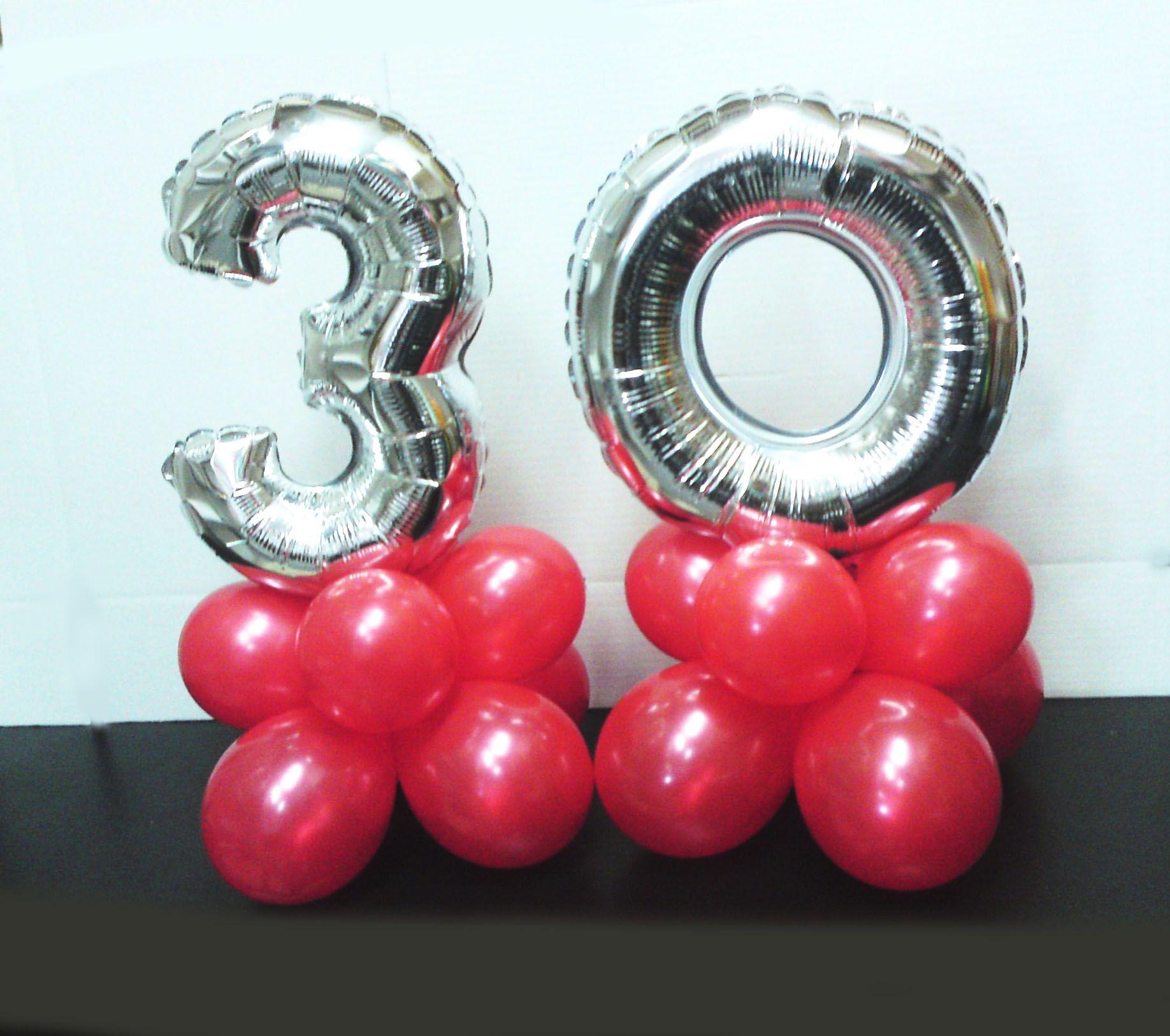 Consejo decora con globos de n meros - Decora con globos ...