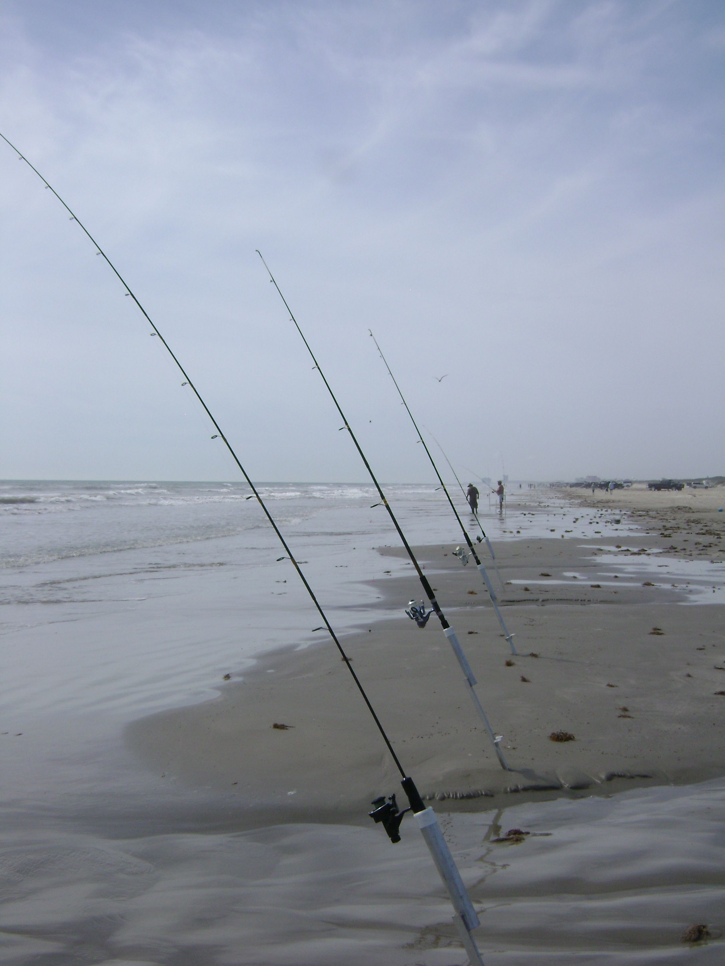 Surf Fishing In Port Aransas Texas I Love This And Bay Can T Wait