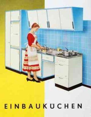 Vintage kitchen ad Ad Nauseum Pinterest Design küchen, Küche - farben für küchenwände