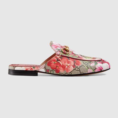bfcfa5746a8 GUCCI Princetown Gg Blooms Slipper.  gucci  shoes  women s moccasins    loafers