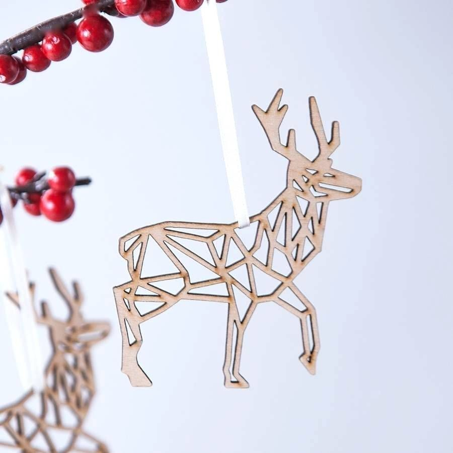 decorationsgeometric reindeer christmas decoration christmas reindeer decorations indoor christmas reindeer decorations australia christmas reindeer - Indoor Christmas Reindeer Decorations
