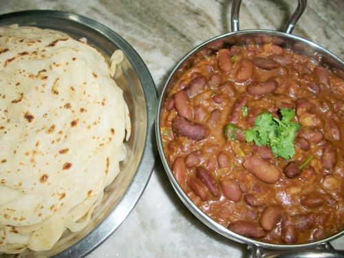 Rajma Curry ( Kidney Beans Gravy )